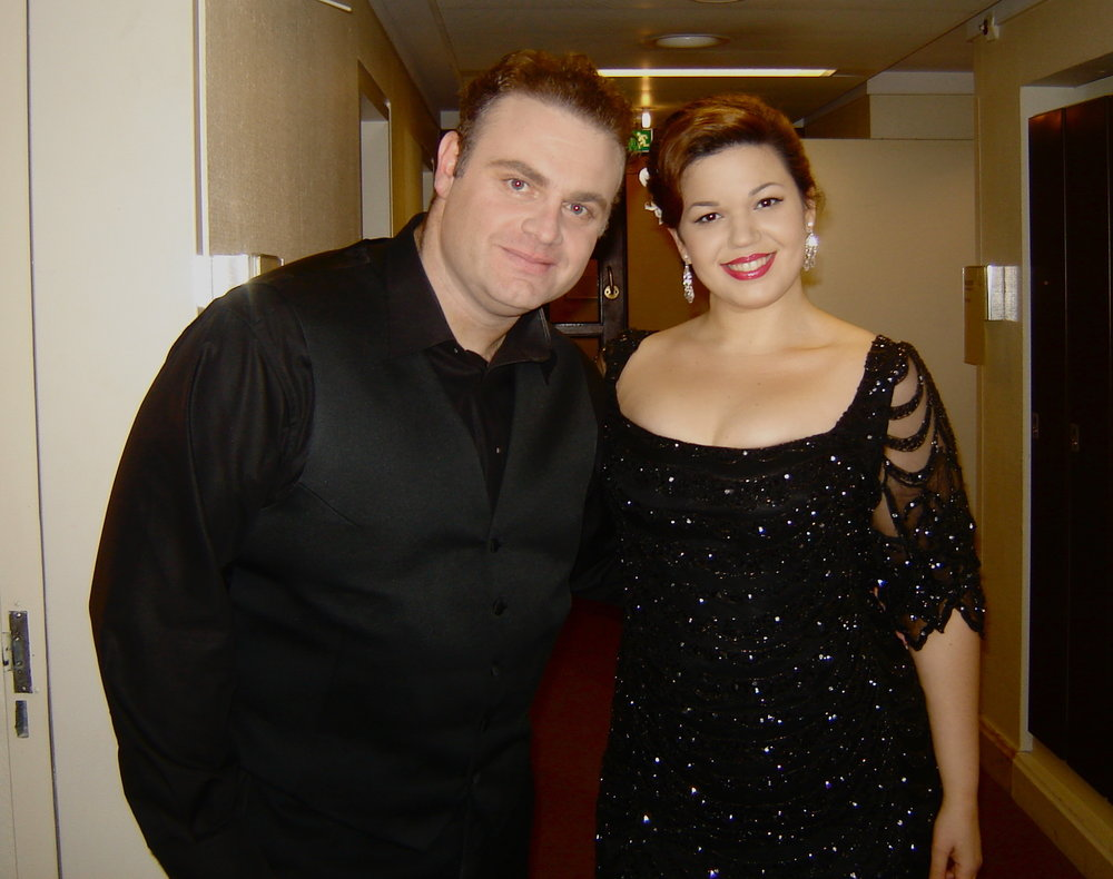 The Dream Team! La Rondine with Joseph Calleja at Frankfurt's Alte Oper.