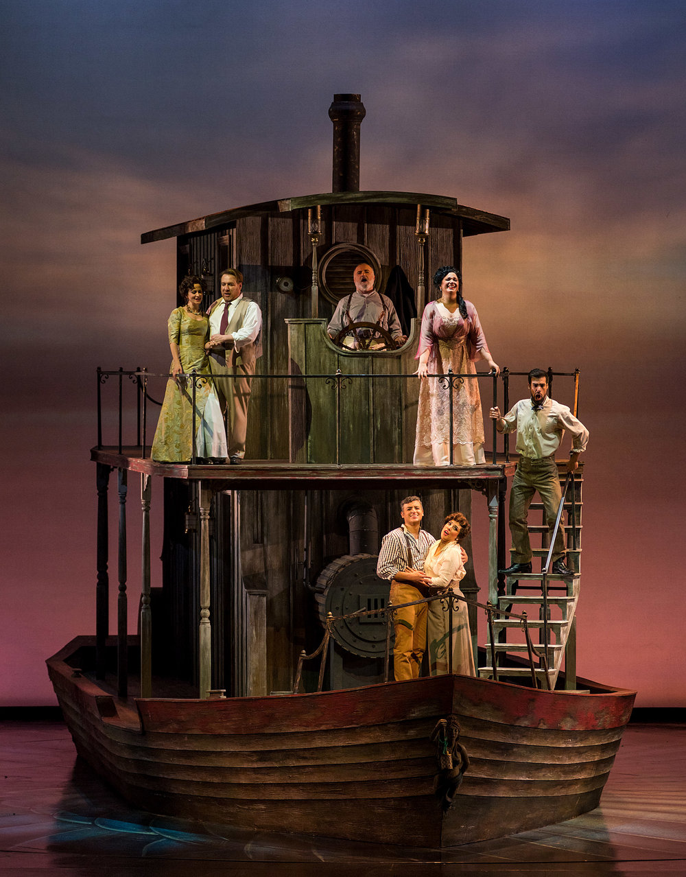 Florencia en el Amazonas at San Diego Opera - Photo by Gary Payne