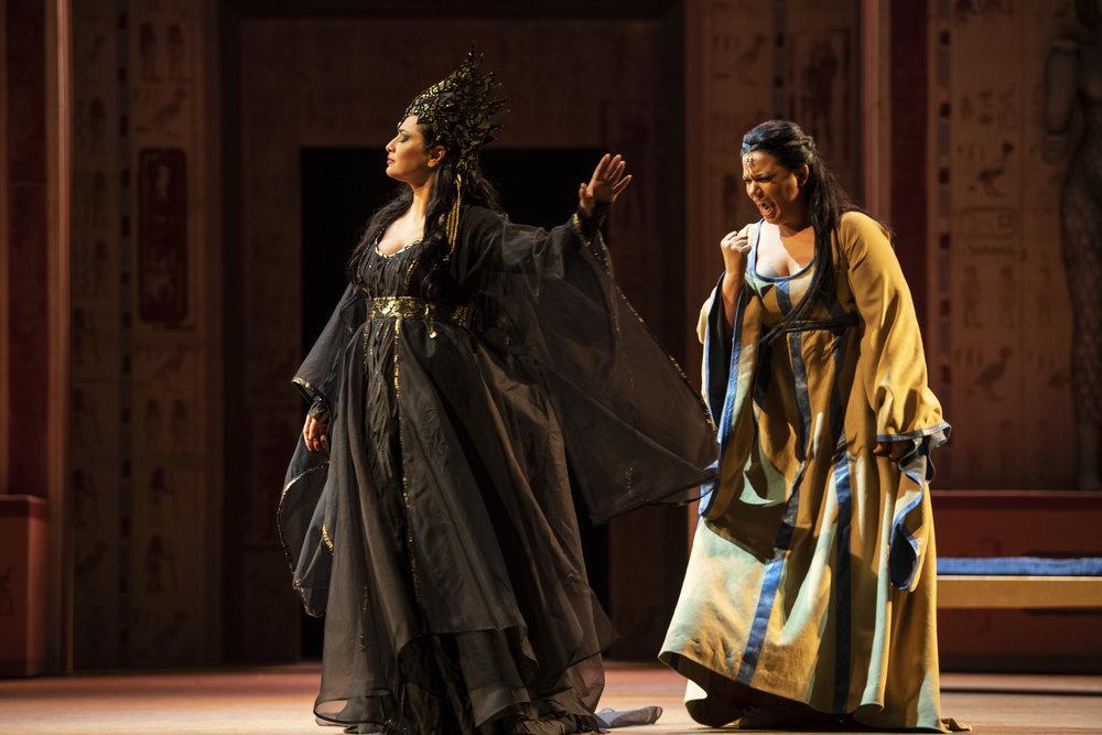 Aida at Opéra Royal de Wallonie-Liège - Photo by Jonathan Berger