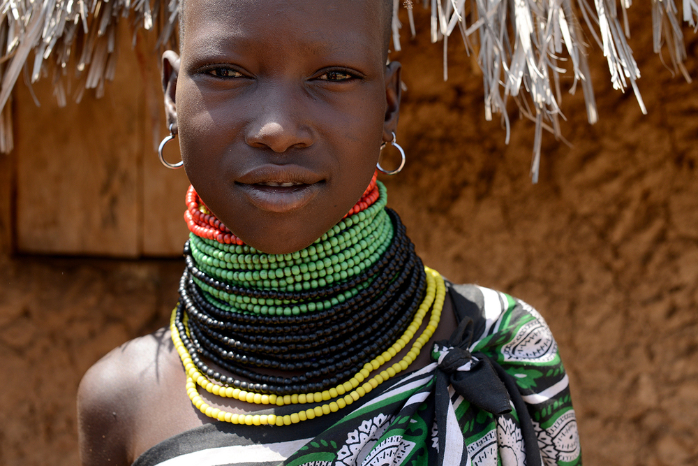 #37 People of Turkana |   Girl from Kangalita