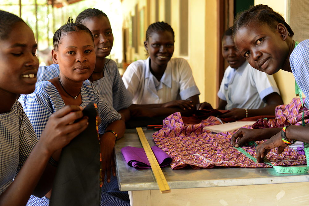 #19 Kakuma Girls Polytech |  Students Sewing I