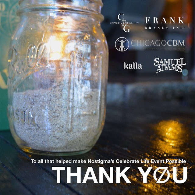 We appreciate the generosity of our 2014 #CelebrateLife sponsors: @frankbrandsinc, @hq_chicago, @kalla, @chicagocbm, and @samueladamsbeee