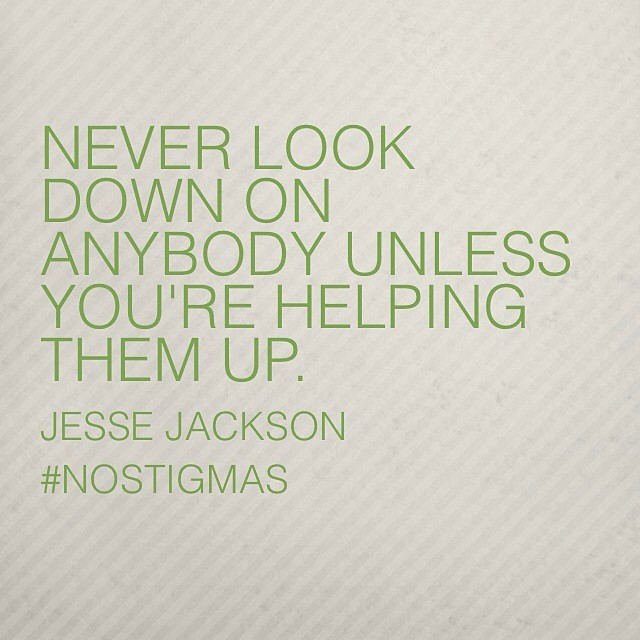 Erasing stigmas begins with you. nostigmas.org/action #mentalhealth #beahero #nostigmas