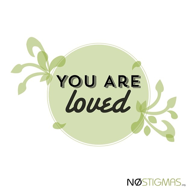 Share to show you care. nostigmas.org #showlove #notalone