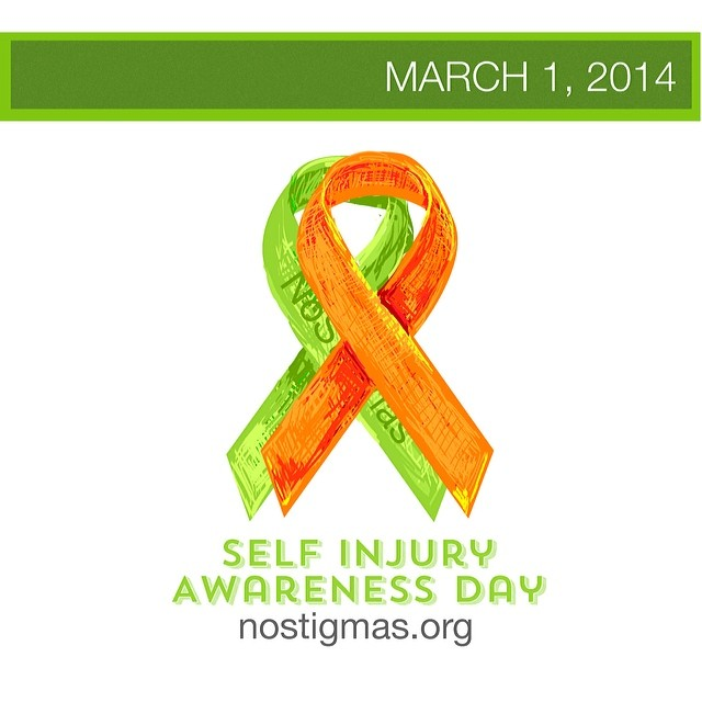 You don't have to face it alone. #SelfInjuryAwarenessDay