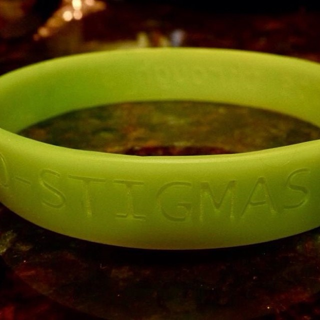 Get yours at  http://nostigmas.org/store  #notalone #resolve #redefinenormal