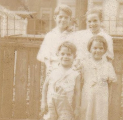 Grandpa, Albert Camperlino, and siblings - Wilmerding, PA - genealogy