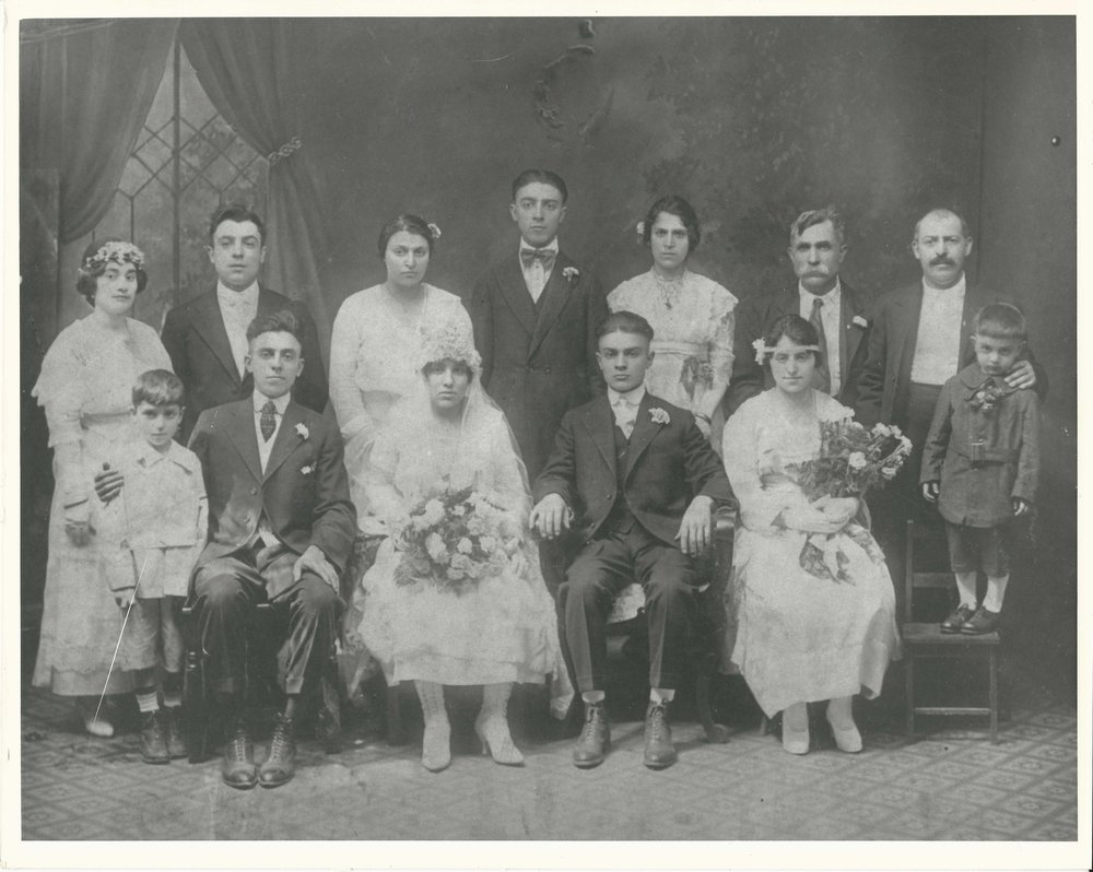 Gennaro, pictured here, far right of the back row.