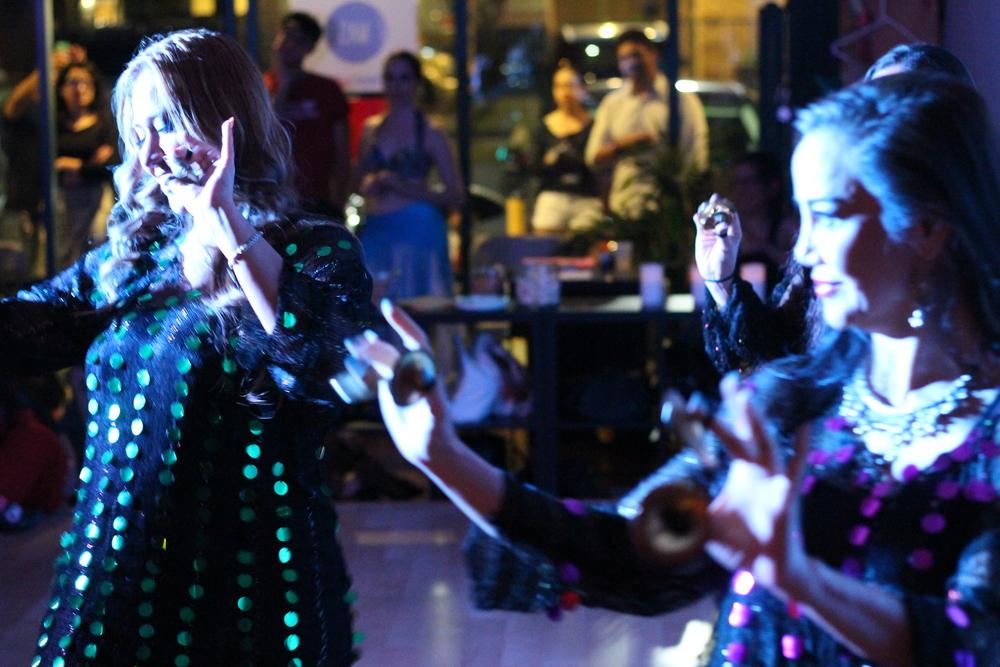 Qabila Folkdance Co. Photo by Aubre Hill.