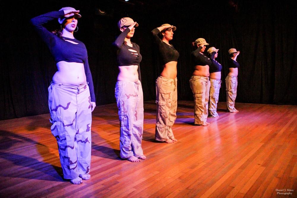 """Dancers: Stefanie, Aubre, Cathy, Belen, Yesenia & Angela performing """"Honor"""""""