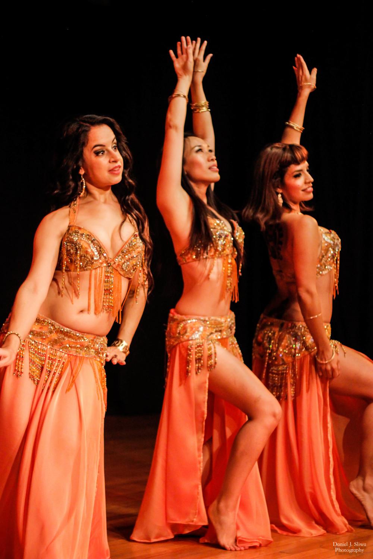 "Dancers: Shaunti Fera, Shanna, and Ninyshka performing ""Alf Leyla wa Leyla"""