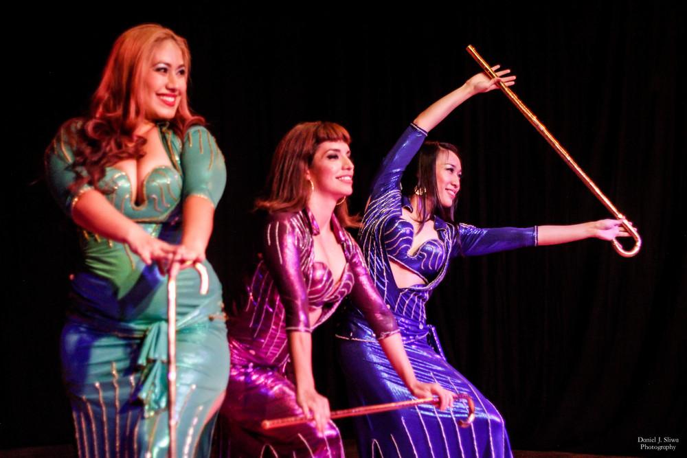 "Dancers: Belen, Ninyshka & Shanna performing ""Saidi Rara"""