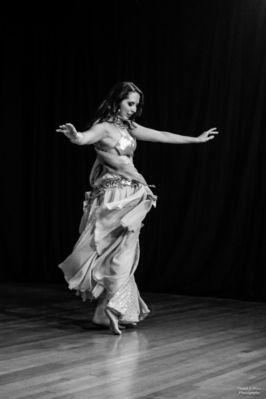 "Dancer Stefanie Mari performing ""Kashlima"""