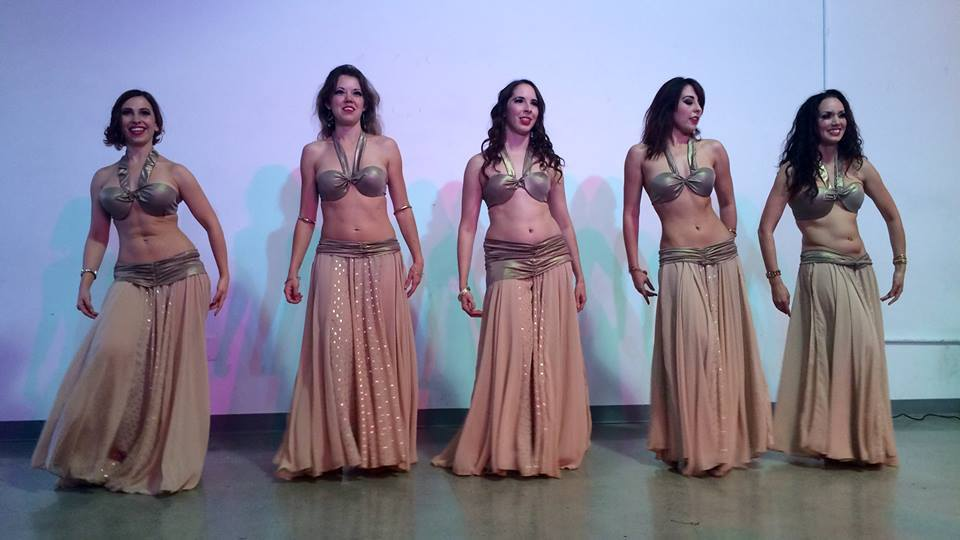 Lumina performing their Golden Age tribute piece at Taste of Belly Dance. Photo by Shanna Shih.