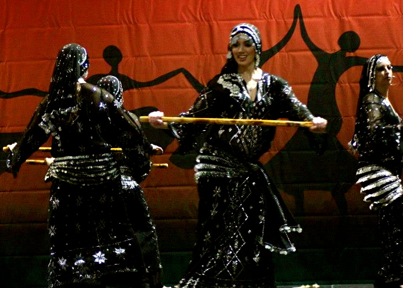 Qabila Folkdance Co performing Saidi