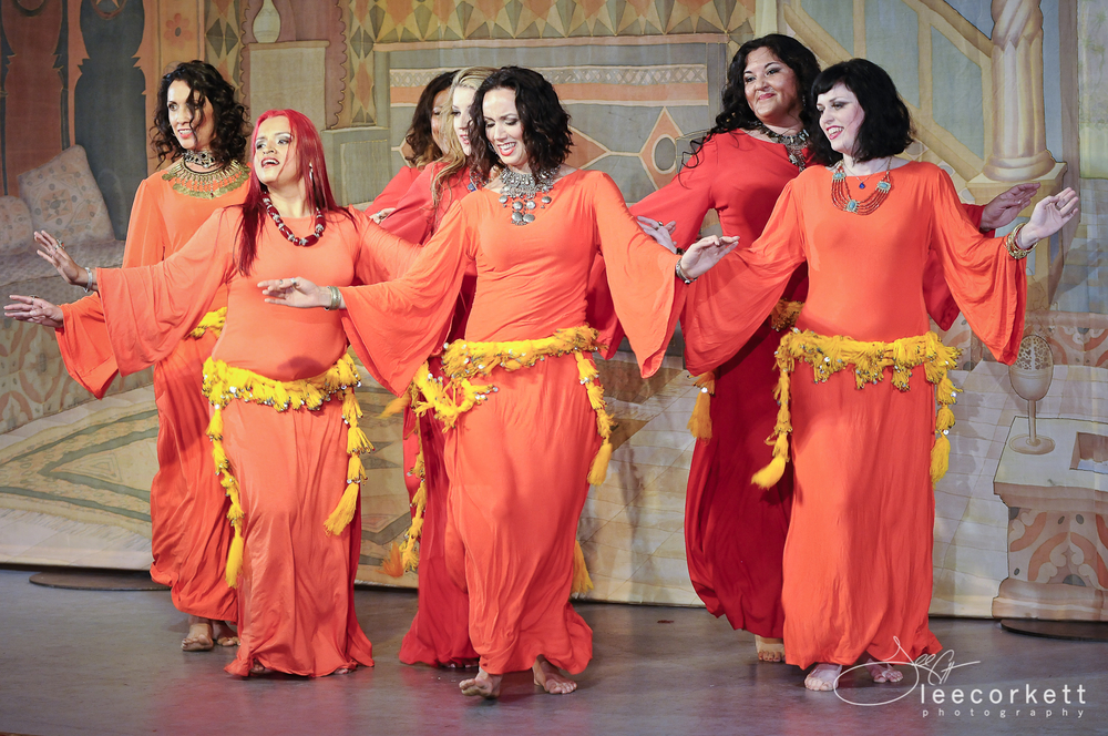 Qabila Folkdance Co performing Moroccan Shikhat. Photo by Lee Corkett.
