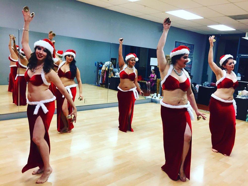 Toys in rehearsal~ Stefanie, Alia, Belen, Shana & Chloe