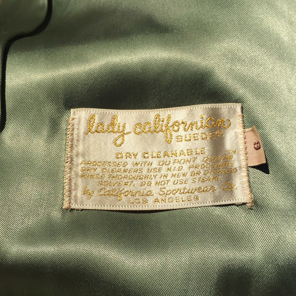 Gorgeous label, gorgeous lining