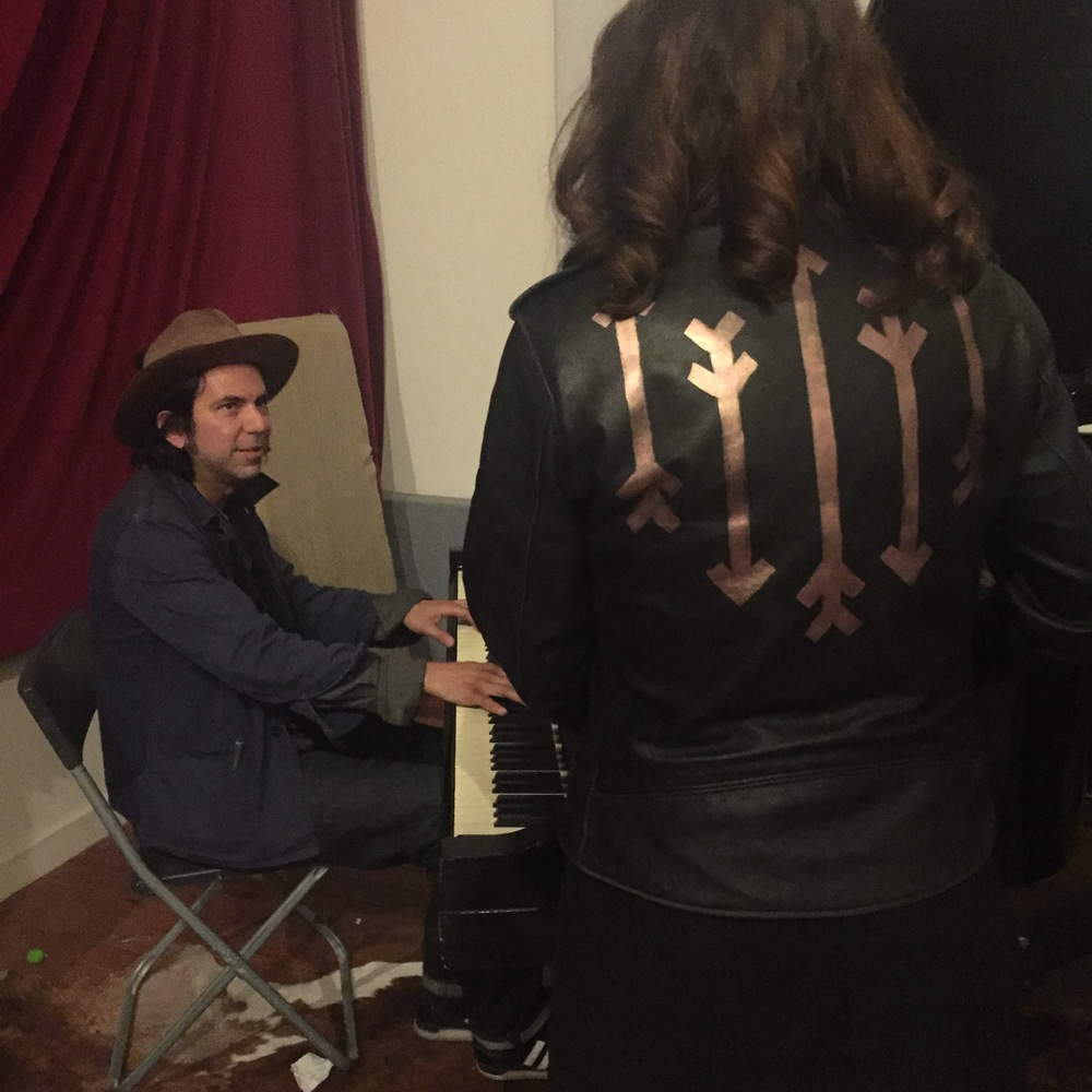 Late night piano & mezcal sessions with Davíd Garza at Church House Studio in Austin, TX
