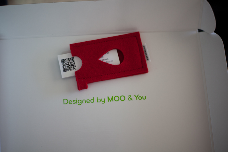 Review Unpacking New Mini Business Cards From Moo Kien Quan