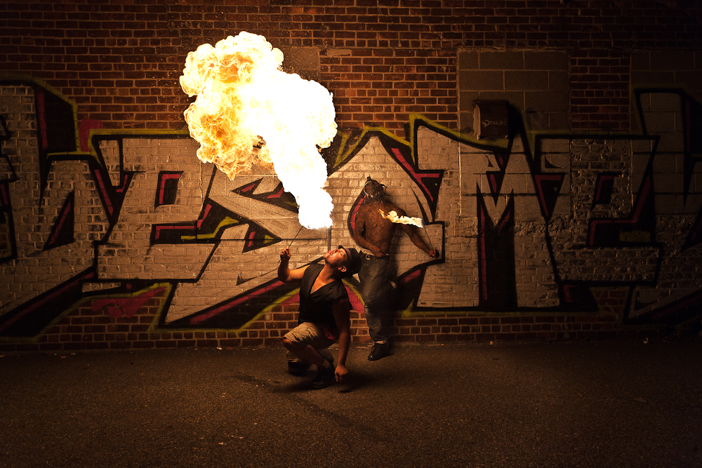 Bones Nextlevelsquad fire breather blower