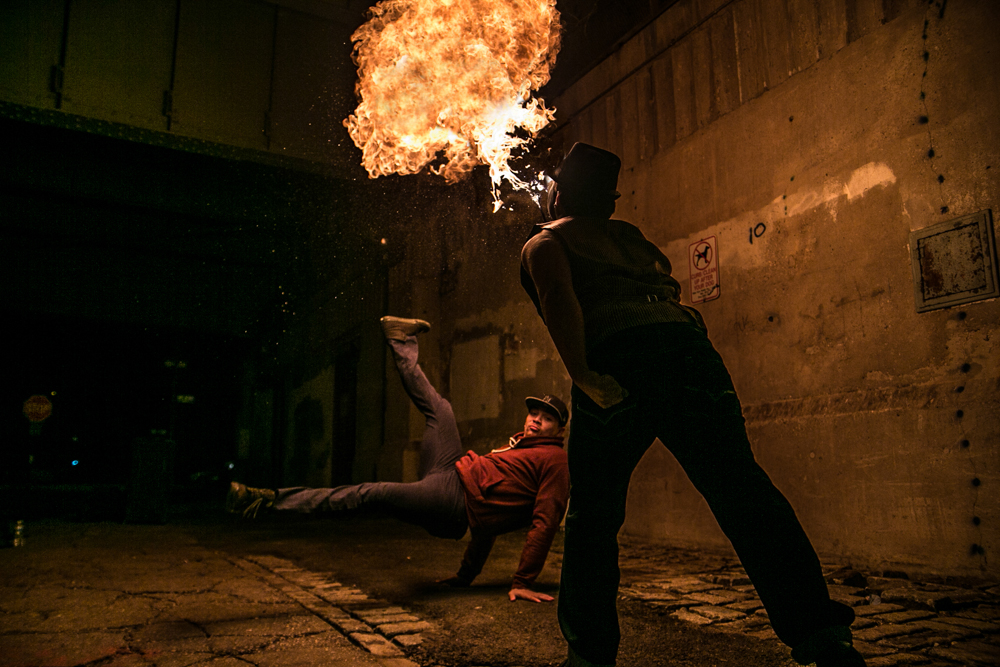 Kien Quan Bboy Breakdance Fire Breathing