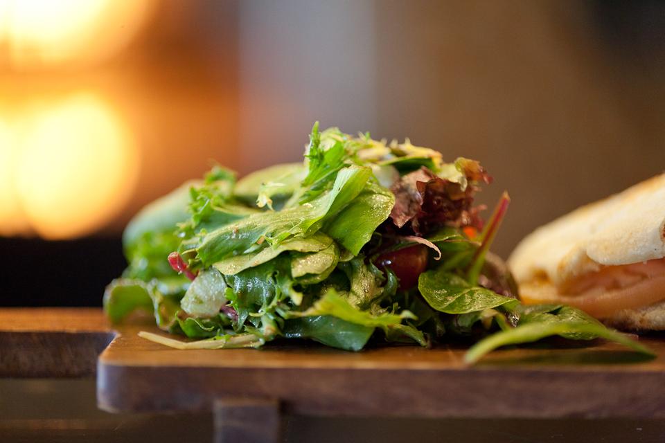 Macro Food Salad
