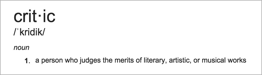 critic-definition.jpg