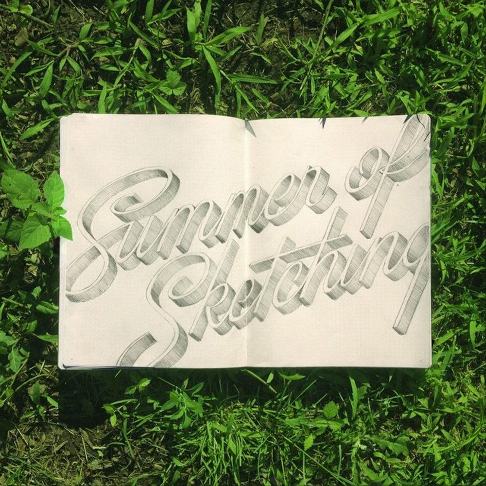 SummerofSketching_grass.jpg