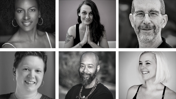 We are honored to have the following global instructors guide you on your journey:  Faith Hunter, Holly Meyers, Hari-kirtana das, Megan Davis, Yogi J. Miles, and April Puciata.