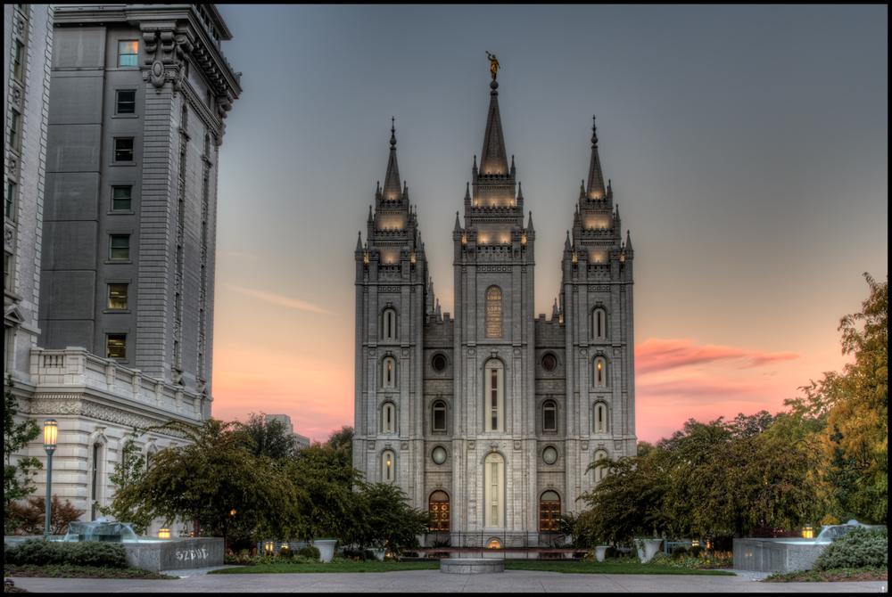 LDS Temple, Salt Lake City,Pedro Szekely