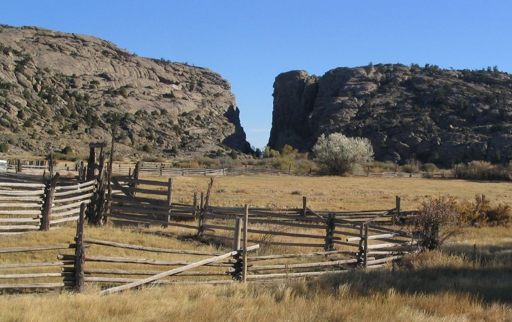 Devils Gate from Martins Cove, Wyoming,  Photo by Ken Lund