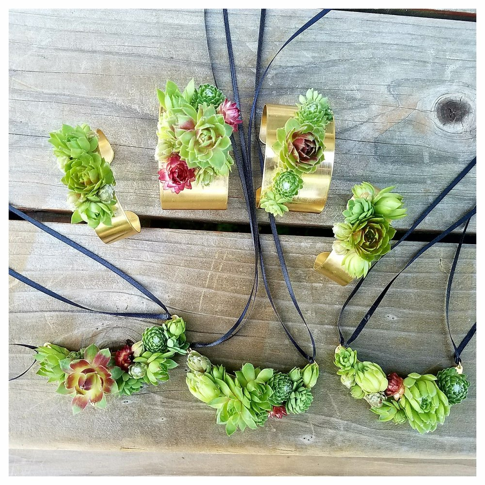 Succulent Jewlery