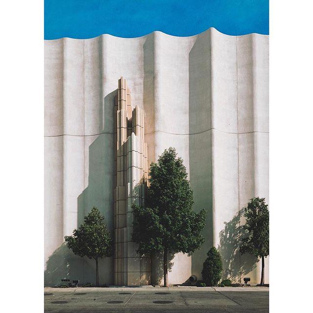#bluesky #minimal #trees #concrete