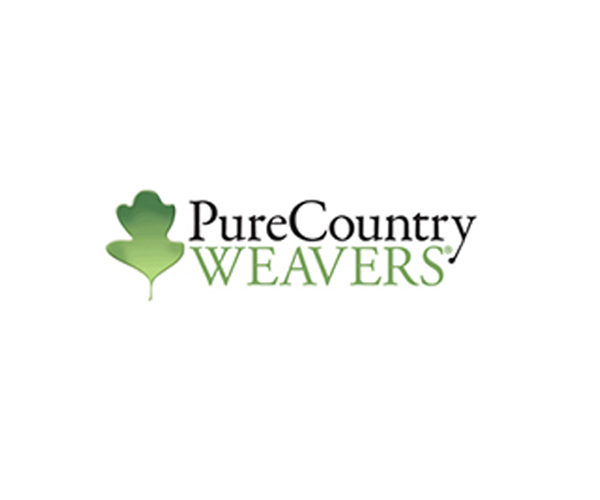 PURE COUNTRY WEAVERS - Family owned and operated, Pure Country Weavers runs a textile mill in the foothills of North Carolina. Their weaving roots date back to the time of the American Revolution, when they supplied General George Washington with blankets at Valley Forge.With an old Jacquard process these weavers convert the artist's works into pleasing blankets. Finally, art and functionality--the aesthetic and the utilitarian--meet.