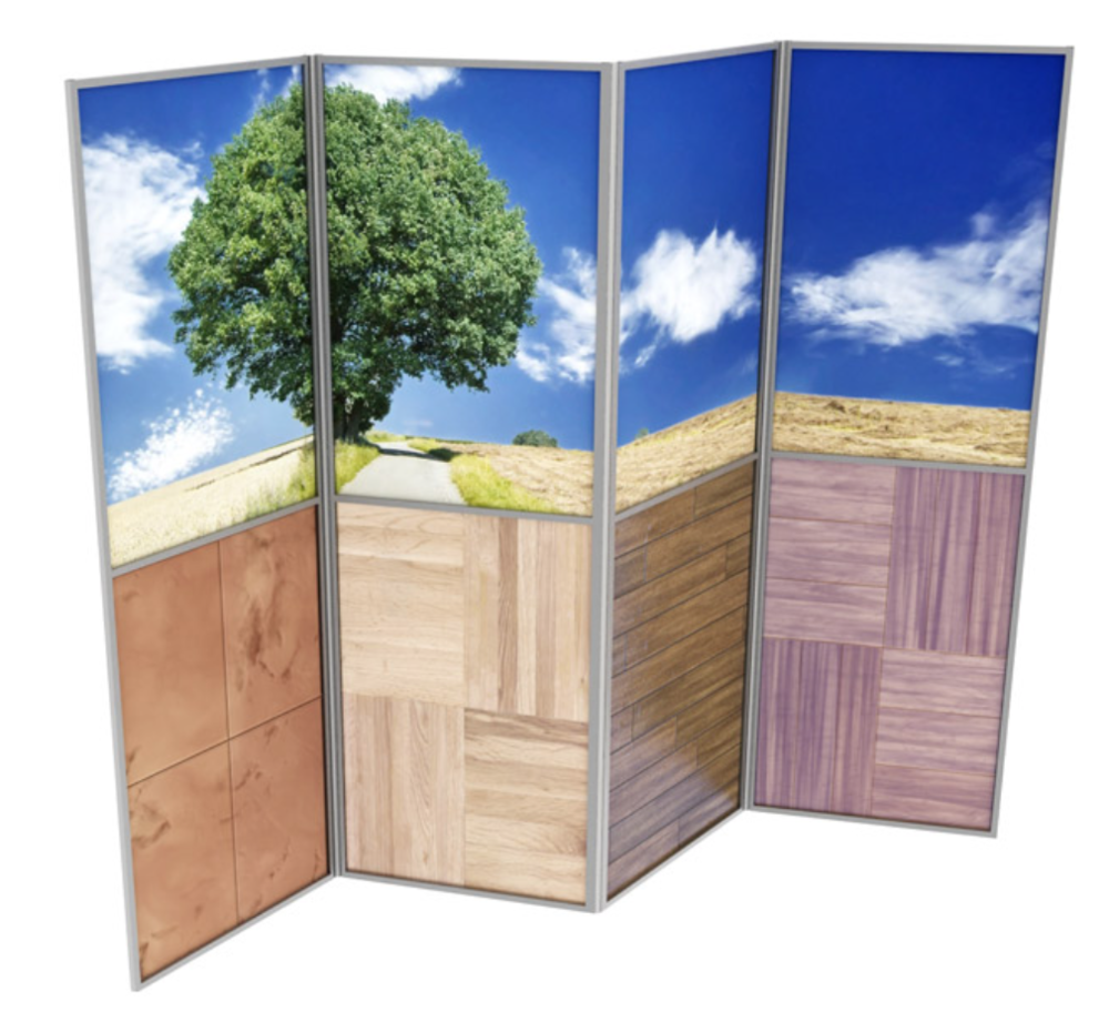 Our New Series Of Table Top And Floor Screens Make It Effortless To Arrange  A Great Looking Exhibit Or Dividing Wall. Choose From Our Standard  Collection Or ...