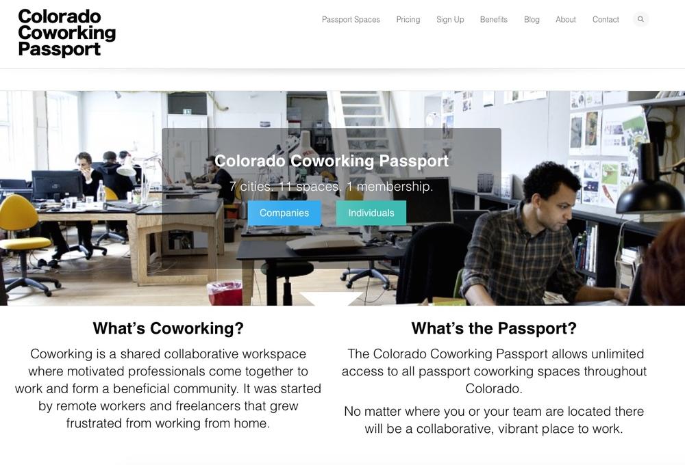 Colorado Coworking Passport