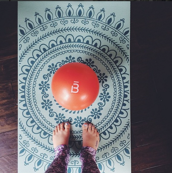 Photo Credit:  Barre3 Instagram