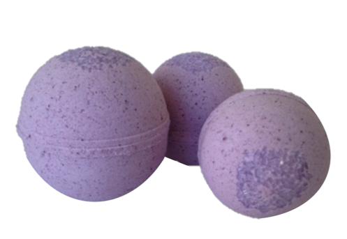 bath bombs.  Lavender Bath Bomb Just Heavenly