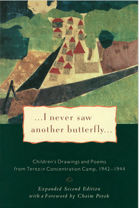 Hana Brady hid   art created by the children of the Theresienstadt  concentration camp in suitcases before she was deported.  The art was discovered years later  .