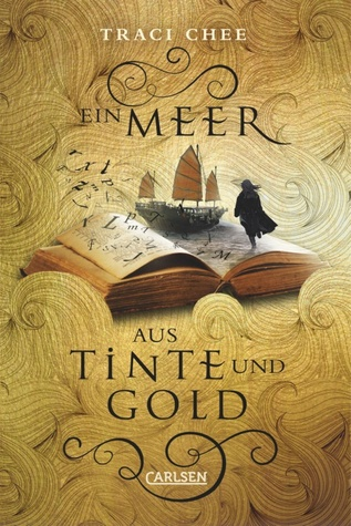 The cover for the German edition captures the meta nature of Chee's story.