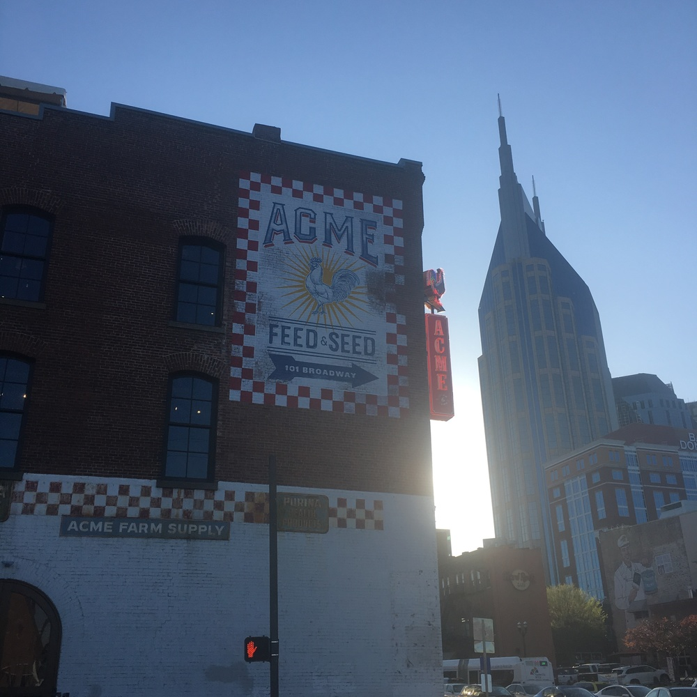 As seen on my first Nashville run from work.
