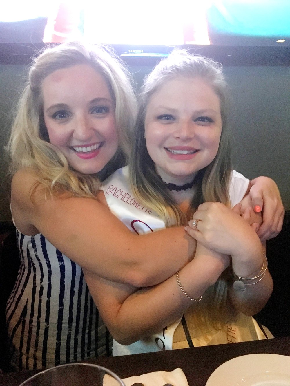 Allie and I at her Bachelorette Party!