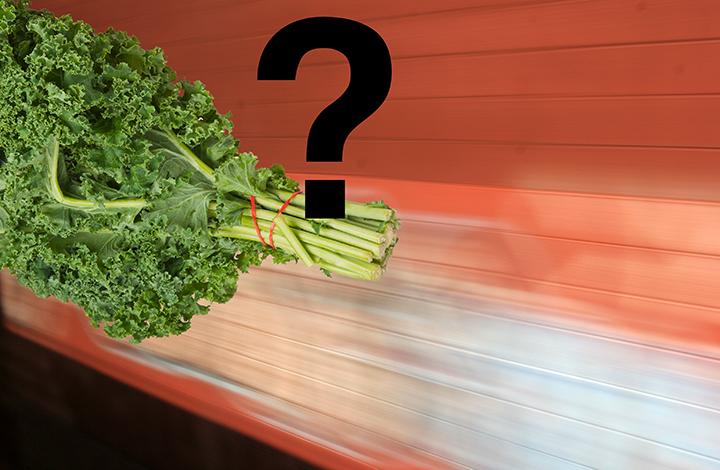 who eats kale?