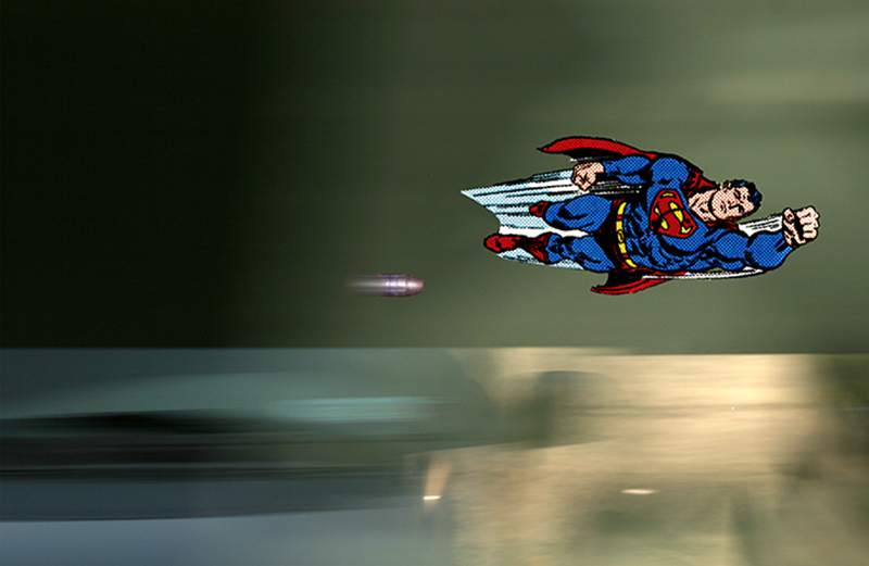 faster than a speeding bullet