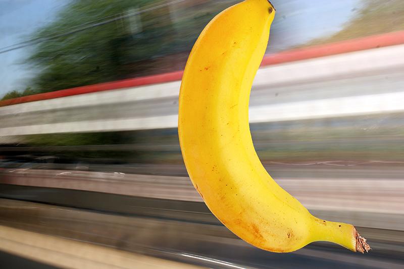 or a banana