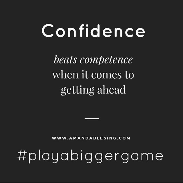 Confidence amandablesing.com