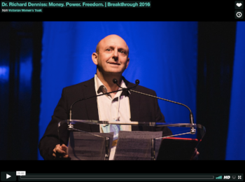 Money, power and freedom by Dr Richard Denniss