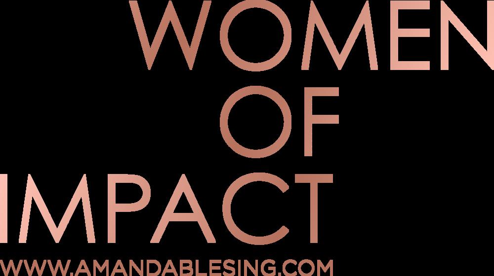 Women of Impact Amanda Blesing