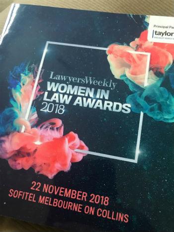 Lawyers weekly Women in Law Awards.JPG